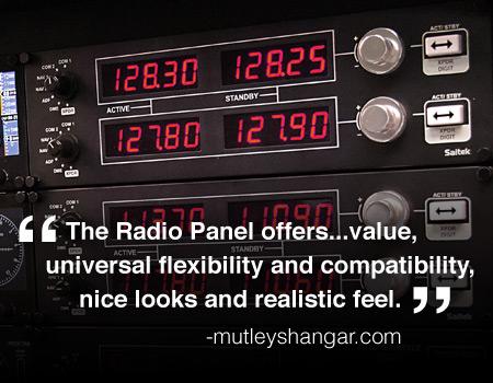 Pro Flight™ Radio Panel for PC | Saitek com