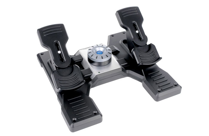 Pro Flight™ Rudder Pedals for PC | Saitek com
