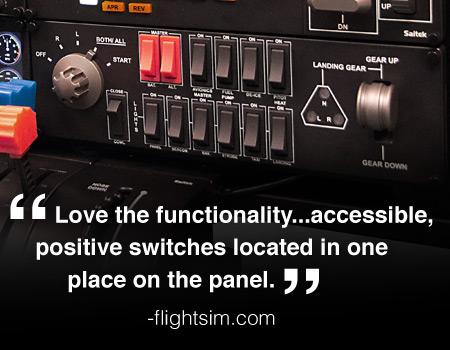 Pro Flight™ Switch Panel for PC | Saitek com