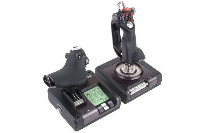X52 Pro Flight System - Fully Integrated Stick and Throttle